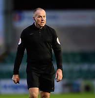 Referee Graham Salisbury<br /> <br /> Photographer Chris Vaughan/CameraSport<br /> <br /> Emirates FA Cup First Round - Lincoln City v Northampton Town - Saturday 10th November 2018 - Sincil Bank - Lincoln<br />  <br /> World Copyright © 2018 CameraSport. All rights reserved. 43 Linden Ave. Countesthorpe. Leicester. England. LE8 5PG - Tel: +44 (0) 116 277 4147 - admin@camerasport.com - www.camerasport.com