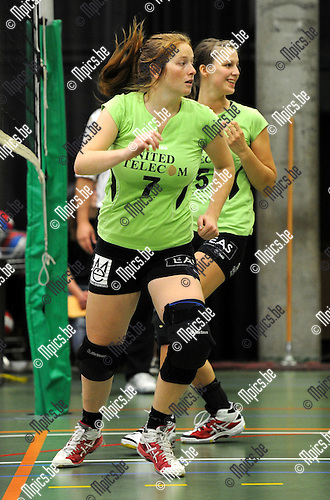 2011-09-24 / Volleybal / seizoen 2011-2012 / Mendo Booischot / Pauline Stuyck..Foto: Mpics