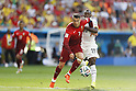 (L-R) Cristiano Ronaldo (POR), Kwadwo Asamoah (GHA), JUNE 26, 2014 - Football / Soccer : FIFA World Cup Brazil<br /> match between Portugal and Ghana at the Estadio Nacional in Brasilia, Brazil. (Photo by AFLO) [3604]