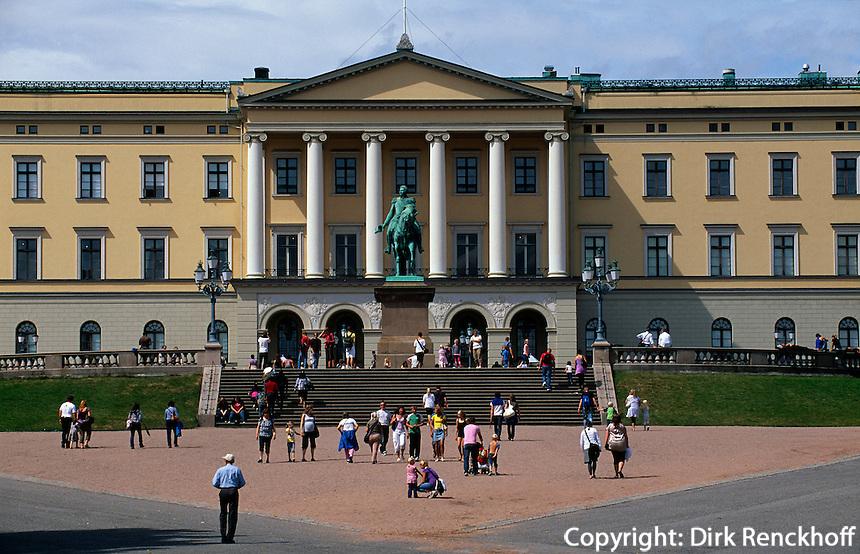 Det Kongelige Slott - Schloss, Oslo, Norwegen
