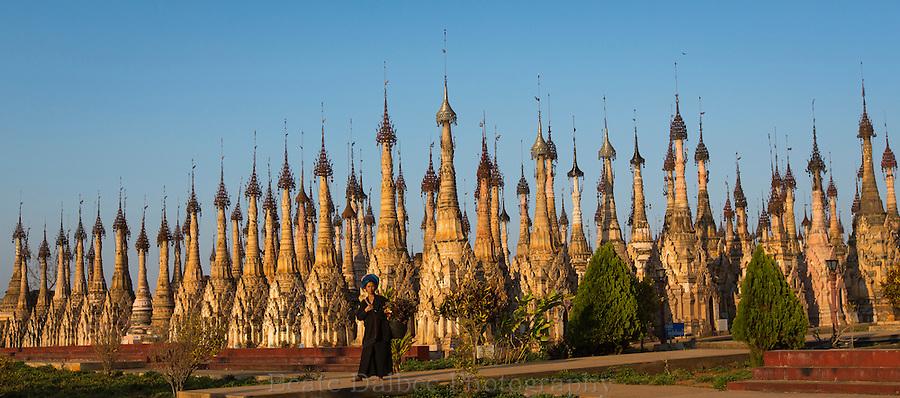Pagodas at Kakku, Myanmar