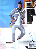 NEW YORK, NY - September 2:  Jason Derulo performs in Central Park at Rumsey Playfield as part of the Good Morning America Summer Concert Series on September 2, 2016 in New York City .  Photo Credit:John Palmer/ Media Punch