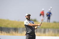 Andy Sullivan (ENG) on the 2nd tee during Round 3 of the HNA Open De France at Le Golf National in Saint-Quentin-En-Yvelines, Paris, France on Saturday 30th June 2018.<br /> Picture:  Thos Caffrey | Golffile