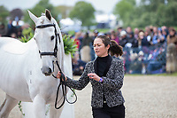 AUS-Natalie Blundell (ALGEBRA) FIRST HORSE INSPECTION: 2014 GBR-CCI4* Mitsubishi Motors Badminton International Horse Trial (Wednesday 7 May) CREDIT: Libby Law COPYRIGHT: LIBBY LAW PHOTOGRAPHY - NZL