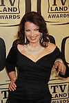 "Fran Drescher at the 10th Anniversary of the TV Land Awards on April 14, 2012 to honor shows ""Murphy Brown"", ""Laverne & Shirley"", ""Pee-Wee's Playhouse"", ""In Loving Color"" and ""One Day At A Time"" and Aretha Franklin at the Lexington Armory, New York City, New York. (Photo by Sue Coflin/Max Photos)"