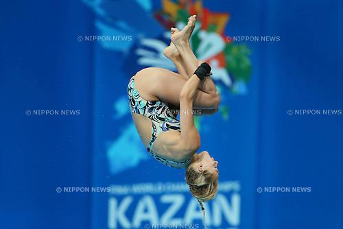 Tonia Couch (GBR), JULY 29, 2015 - Diving : 16th FINA World Championships Kazan 2015 Women's 10m Platform Preliminary at Aquatics Palace in Kazan, Russia. (Photo by Yohei Osada/AFLO SPORT)