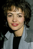La chanteuse et actrice Louise Portal veres 1986<br /> <br /> Photo : Pierre Roussel