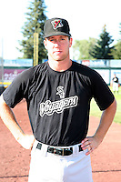 August 14, 2009: Todd Gossage of the Great Falls Voyagers. The Voyagers are Pioneer League affiliate for the Chicago White Sox. Photo by: Chris Proctor/Four Seam Images