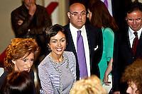 CHIETI 24/05/2011 -L'ONOREVOLE MARA CARFAGNA A CHIETI. FOTO DI LORETO/INFOPHOTO