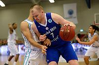 LEEK - Basketbal, Donar - Istanbul BBSK, Europe Cup, seizoen 2018-2019, 17-10-2018,  Donar speler Shane Hammink met Istanbul BBSK speler Damian Kulig