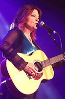 Rosanne Cash performs at the Cambridge Folk Festival 2018, Cherry Hinton Hall, Cambridge, England, UK on 3rd and 4th August 2018.<br /> CAP/ROS<br /> &copy;ROS/Capital Pictures