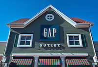 GAP Outlet store at Clinton Crossing, Connecticut, USA