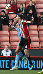 Chris Basham of Sheffield Utd during the Emirates FA Cup Round One match at Bramall Lane Stadium, Sheffield. Picture date: November 6th, 2016. Pic Simon Bellis/Sportimage