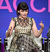 "BEVERLY HILLS - AUGUST 1: Ginnifer Goodwin onstage during the ""Why Women Kill"" panel at the CBS All Access portion of the Summer 2019 TCA Press Tour at the Beverly Hilton on August 1, 2019 in Los Angeles, California. (Photo by Frank Micelotta/PictureGroup)"