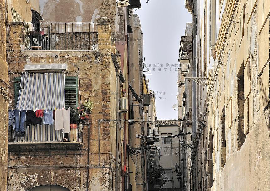 Palermo, historic city center.<br /> Palermo, centro storico