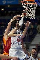 Real Madrid´s Rudy Fernandez during 2014-15 Euroleague Basketball match between Real Madrid and Galatasaray at Palacio de los Deportes stadium in Madrid, Spain. January 08, 2015. (ALTERPHOTOS/Luis Fernandez) /NortePhoto /NortePhoto.com