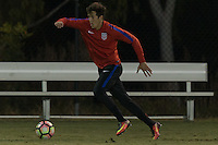 Carson, CA - January 18, 2017: The USMNT U20 train during their annual winter training camp at StubHub Center.