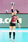 Setter Koyomi Tominaga of Japan in action during the FIVB Volleyball World Grand Prix - Hong Kong 2017 match between Japan and Serbia on 22 July 2017, in Hong Kong, China. Photo by Yu Chun Christopher Wong / Power Sport Images