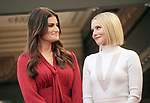 Idina Menzel, Kristen Bell -Double Stars 056 ,  Kristen Bell And Idina Menzel  Honored With Stars On The Hollywood Walk Of Fame on November 19, 2019 in Hollywood, California