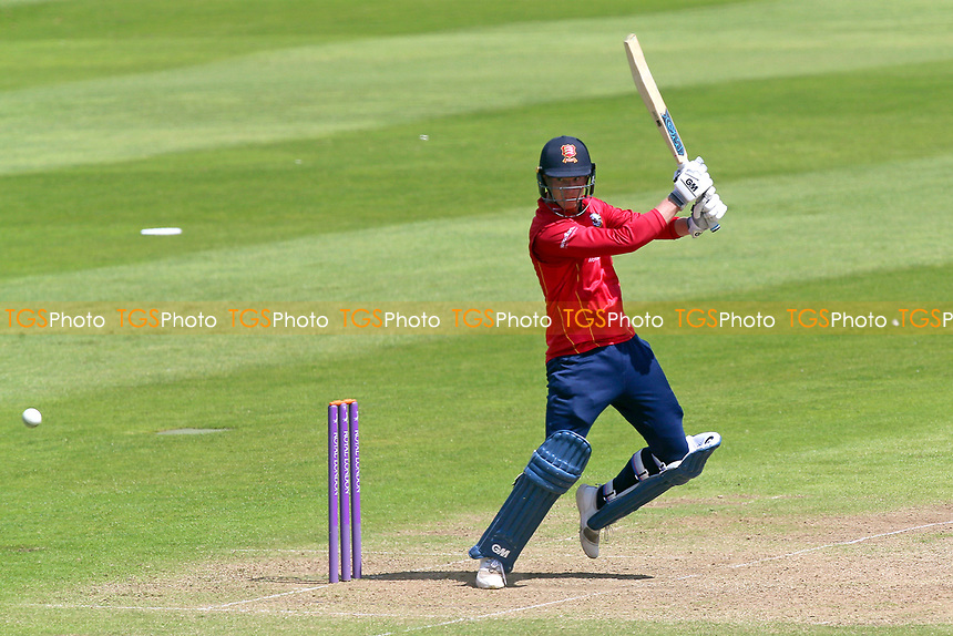 Tom Westley hits four runs for Essex during Somerset vs Essex Eagles, Royal London One-Day Cup Cricket at The Cooper Associates County Ground on 14th May 2017