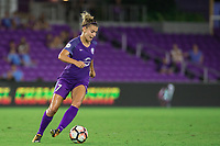 Orlando, FL - Thursday September 07, 2017: Steph Catley during a regular season National Women's Soccer League (NWSL) match between the Orlando Pride and the Seattle Reign FC at Orlando City Stadium.
