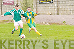 Kerry v Limerick County  in their Inter County U/16 match at Tralee Dynamos pitch on Sunday..