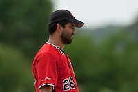 21 May 2009: Jamel Boutagra of Toulouse is seen coaching during the 2009 challenge de France, a tournament with the best French baseball teams - all eight elite league clubs - to determine a spot in the European Cup next year, at Montpellier, France.