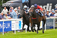 Winner of The Dee Wilks Against The Odds Confined Novice Stakes (Div 1)Power of Darkness ridden by Hayley Turner and trained by Marcus Tregoning during Afternoon Racing at Salisbury Racecourse on 12th June 2018