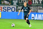 04.11.2018, Opel-Arena, Mainz, GER, 1 FBL, 1. FSV Mainz 05 vs SV Werder Bremen, <br /> <br /> DFL REGULATIONS PROHIBIT ANY USE OF PHOTOGRAPHS AS IMAGE SEQUENCES AND/OR QUASI-VIDEO.<br /> <br /> im Bild: Ludwig Augustinsson (SV Werder Bremen #5)<br /> <br /> Foto © nordphoto / Fabisch