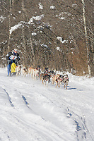 Musher Micahel Tetzner, 2007 Open North American Championship sled dog race (the world's premier sled dog sprint race) is held annually in Fairbanks, Alaska.