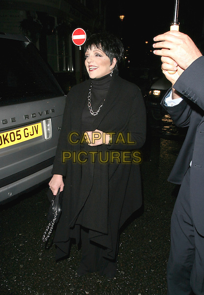 LIZA MINNELLI .An Evening With Liza Minnelli, Vue West End, London, UK..Ref: AH.September 28th, 2006.full length black trousers jacket.www.capitalpictures.com.sales@capitalpictures.com.©Adam Houghton/Capital Pictures.
