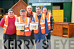 Killarney Mens Shed are taking to the streets of Killarney this Thursday to help raise money for the day to day running of the project. <br /> Front L-R Christy Sheehy and John O'Sullivan <br /> Back L-R Richard Hewerdine, Pat O'Mahony and John Harmon.