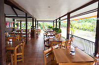 Interior of Las Brasitas restaurant, La Fortuna Costa Rica
