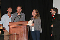 LOS ANGELES - SEP 30:  Conservation Award Winners, Ron Truppa at the Catalina Film Festival Awards at the Casino on Catalina Island on September 30, 2017 in Avalon, CA