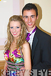 Niamh Guerin and David Leen pictured at Causeway Comprehensive Debs Ball at the Ballyroe Heights hotel on Thursday.