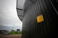Azienda Agricola F.lli Ronca.Produzione di biogas dalla digestione anaerobica delle deiezioni animali. Produzione di energia elettrica da combustione del biogas.<br /> Farm Ronca family. Production of biogas from the anaerobic digestion of animal waste. Production of electricity from the combustion of biogas.