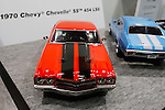A replica of a 1970 Chevy Chevelle SS 454 LS6 on display at the 56th All Japan Model & Hobby Show in Tokyo Big Sight on September 25, 2016. The exhibition introduced hobby goods such as plastic models, action figures, drones, and airsoft guns. (Photo by Rodrigo Reyes Marin/AFLO)