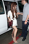 June 5th 2012 ...Lana Del Rey wearing a short white dress carrying a red snake skin purse M tattoo on her hand with butterfly?s in her hair walking into the Chateau Marmont in HOllywood ...AbilityFilms@yahoo.com.805 427 3519.www.AbilityFilms.com.