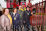 Killarney Mayor Bobby O'Connell launched the new drive to replace the gates at St Mary's church in Killarney on Monday l-r: Yvonne quill Killarney Tidy Towns, Kate O'Leary Killarney Chamber of commerce, Rev Simon Lumby, John Joe Culloty and Mayor Bobby o'Connell