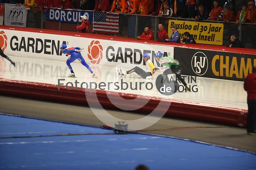 SPEEDSKATING: INZELL: Max Aicher Arena, 10-02-2019, ISU World Single Distances Speed Skating Championships, Mass Start Men, Bart Swings (BEL), ©photo Martin de Jong