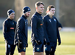 St Johnstone Training&hellip;.14.12.18    McDiarmid Park<br />Jason Kerr pictured during training this morning with Greg Hurst and Blair Alston<br />Picture by Graeme Hart.<br />Copyright Perthshire Picture Agency<br />Tel: 01738 623350  Mobile: 07990 594431