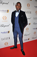 Ben Ofoedu at the Lux Afrique gala dinner, Claridge's Hotel, Brook Street, London, England, UK, on Sunday 01 October 2017.<br /> CAP/CAN<br /> &copy;CAN/Capital Pictures