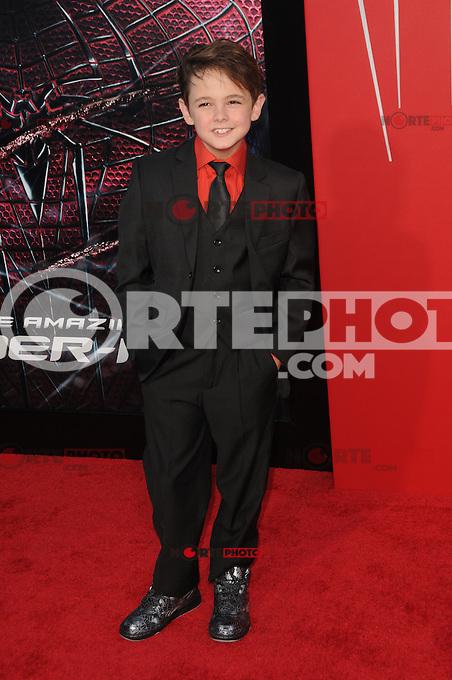 Max Charles at the premiere of Columbia Pictures' 'The Amazing Spider-Man' at the Regency Village Theatre on June 28, 2012 in Westwood, California. &copy; mpi35/MediaPunch Inc. /*NORTEPHOTO.COM*<br /> **SOLO*VENTA*EN*MEXICO** **CREDITO*OBLIGATORIO** *No*Venta*A*Terceros*<br /> *No*Sale*So*third* ***No*Se*Permite*Hacer Archivo***No*Sale*So*third*&Acirc;&copy;Imagenes*con derechos*de*autor&Acirc;&copy;todos*reservados*.