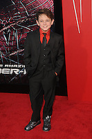 Max Charles at the premiere of Columbia Pictures' 'The Amazing Spider-Man' at the Regency Village Theatre on June 28, 2012 in Westwood, California. © mpi35/MediaPunch Inc. /*NORTEPHOTO.COM*<br /> **SOLO*VENTA*EN*MEXICO** **CREDITO*OBLIGATORIO** *No*Venta*A*Terceros*<br /> *No*Sale*So*third* ***No*Se*Permite*Hacer Archivo***No*Sale*So*third*©Imagenes*con derechos*de*autor©todos*reservados*.