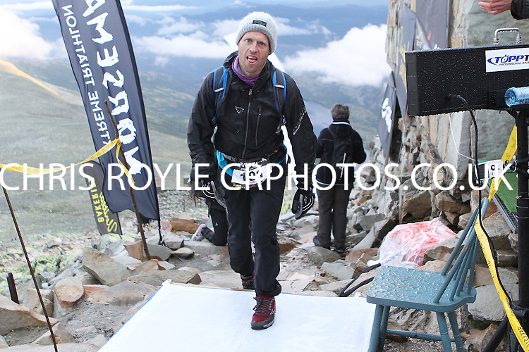 Race number 101 - Anders Tørud- Sunday Norseman Xtreme Tri 2012 - Norway - photo by chris royle / boxingheaven@gmail.com