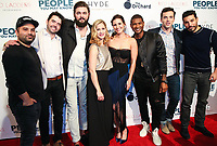 LOS ANGELES, CA - NOVEMBER 13: Sherwin Shelati, Nick Rutherford, Nick Thune, Gillian Alexy, Kaily Smith Westbrook, Usher Raymond IV and Ian Harding at People You May Know at The Pacific Theatre at The Grove in Los Angeles, California on November 13, 2017. Credit: Robin Lori/MediaPunch