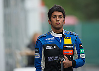 Ameya Vaidyanathan (IND) of Carlin during the F3 European race during the 2018 Silverstone - FIA World Endurance Championship at Silverstone Circuit, Towcester, England on 19 August 2018. Photo by Vince  Mignott.