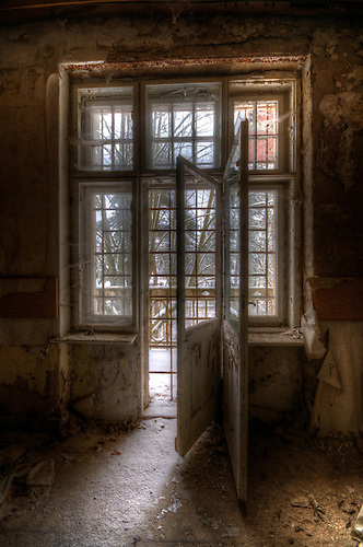 Old mental hospital somewhere near Berlin