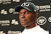 New York Jets Head Coach Todd Bowles fields questions from the media after team practice at the Atlantic Health Jets Training Jets Training Center in Florham Park, NJ on Wednesday, Dec. 30, 2015.