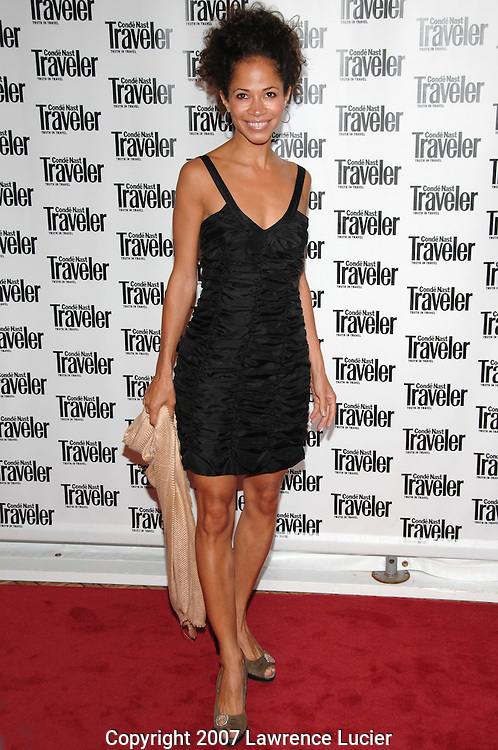 Actress Sherri Saum arrives at the Condé Nast Traveler Readers' Choice Awards October 10, 2007, at the Cooper-Hewitt Design Museum in New York City.. (Pictured : SHERRI SAUM).